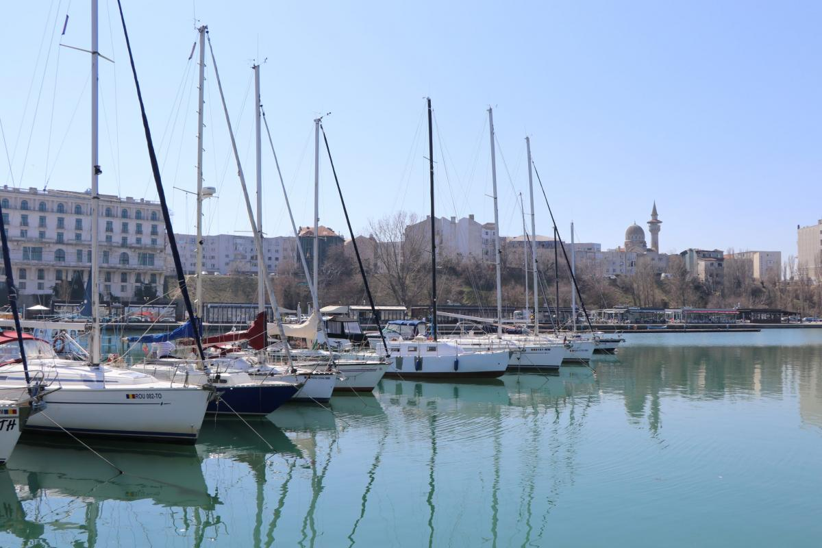 Tourist port Tomis